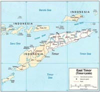 East Timor's prime minister calls for international support of country's democracy