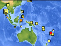 Pacific Nations Disturbed by a New Earthquake