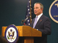 Michael Bloomberg's personal bank accounts are under attack