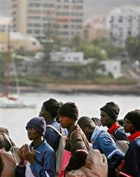 Thirteen dead migrants and 46 survivors found on packed migrant boat in Spain