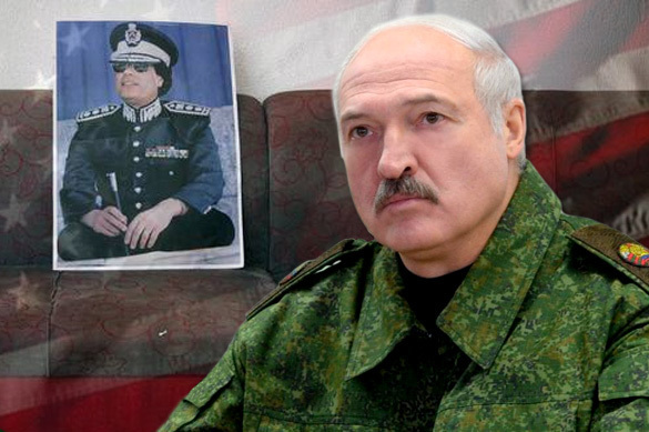 US offers Lukashenko to suffer Gaddafi's fate?. Lukashenko