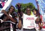 Haitians vote for democracy