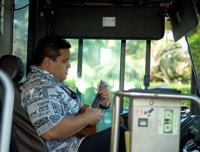 Cell Phone Use at the Wheel Tabooed for American Bus Drivers