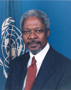 Annan opens U.N. debate decrying unjust world economy