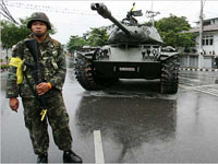Thailand military seized Bangkok