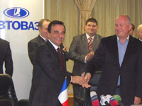 French Renault Contributes to Russian AvtoVAZ