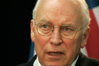 Dick Cheney should slam himself, not Russia
