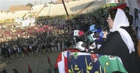 Suicide bomber attacks Bhutto rally, at least 20 killed