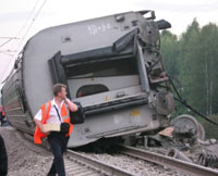 Russia Investigates Nevsky Express Train Derailment as Terror Act