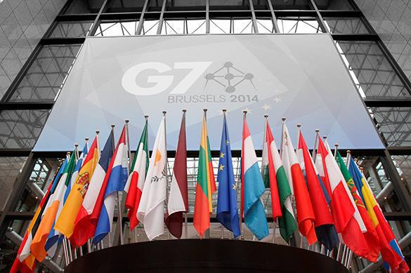 G7 diplomats admit the club is worthless without Russia. 58066.jpeg
