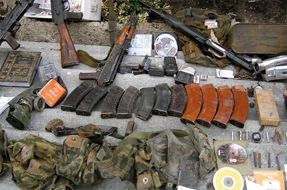 FSB detains weapon traders with powerful aircraft cannons. Weapons