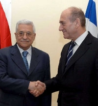 Olmert and Abbas to discuss establishing Palestinian State during their first meeting in Palestine