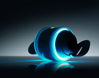 Sony presents new egg-shaped music player