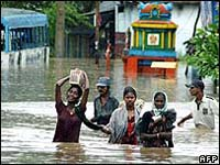 95 dead, hundreds missing as storms lash India, Bangladesh