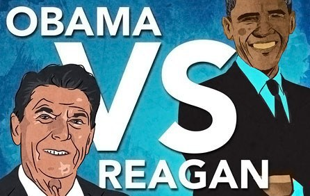 The Americans begin to compare Obama with Reagan: the difference is 32% of GDP. 55070.jpeg