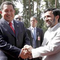 Chavez visits Tehran