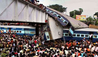 Speeding Train Rams Another in West Bengal, Killing 60