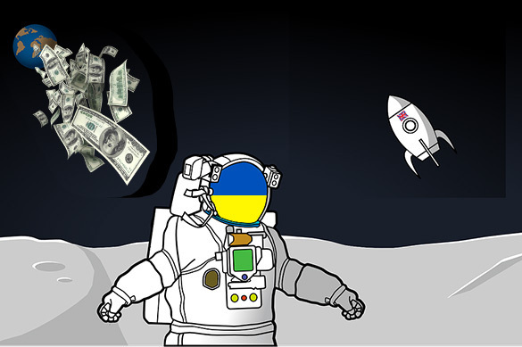 Ukraine ready to build its own base of the Moon, but needs some cash. 59071.jpeg