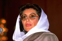 Benazir Bhutto is under attack