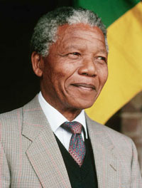 Nelson Mandela Celebrates 92nd Birthday