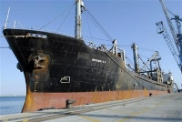 Cargo ship from North Korea docks in Myanmar since last month's agreement