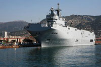 Russia To Purchase Large Attack Vessel from France?