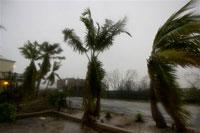 Hurricane Ike roars across Cuba