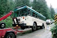 Tour bus crash kills driver, about 30 injured in South Carolina