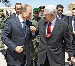 Abbas says about talks with Israel in meeting with Putin