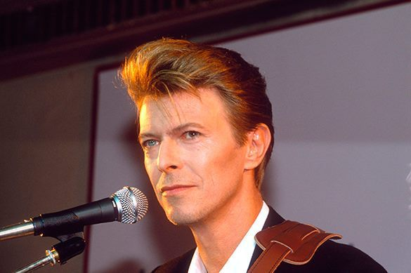 David Bowie dies peacefully at age 69. David Bowie