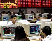 Asian, European markets drop for 2nd day amid global jitters, but Chinese stocks recover