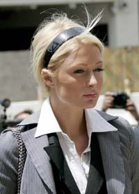 Paris Hilton sent back to jail in hysterics
