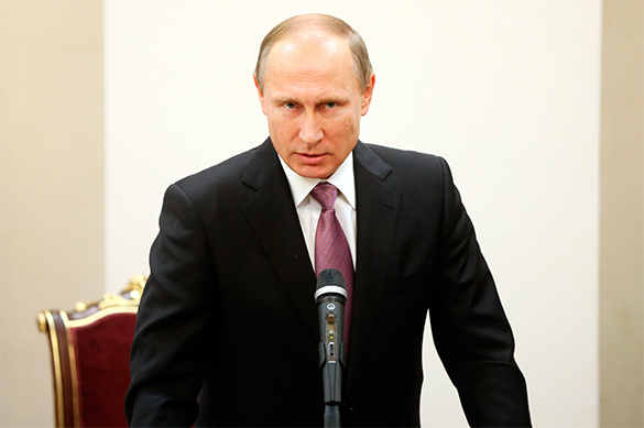 Putin on Obama's exceptionalism and political asylum to Assad. Russian President Putin