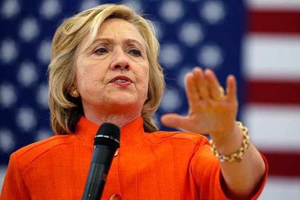 46% US voters demand to stop Hillary Clinton's campaign. Clinton