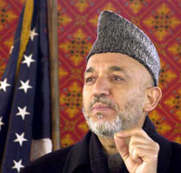 Afghan President Hamid Karzai Opens International Conference in Kabul