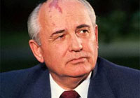 Gorbachev criticises USA