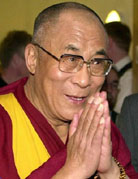Dalai Lama, at famed Mayo, touts compassion's role in health