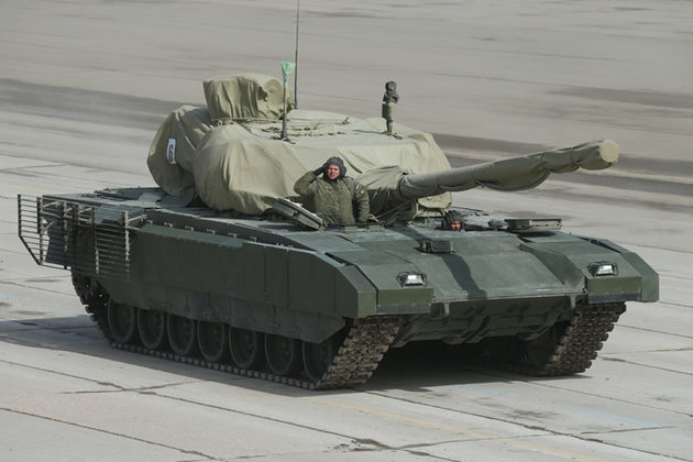 Russian Black Eagle Surpasses America's Abrams. New military equipment to adorn Victory Parade