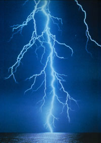 Speaking over cell phones during a thunderstorm increases risk of death by lightning