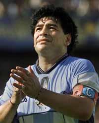 Maradona's health