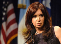 Two women fight for presidency in Argentina