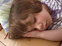 Lack of sleep may cause obesity with children