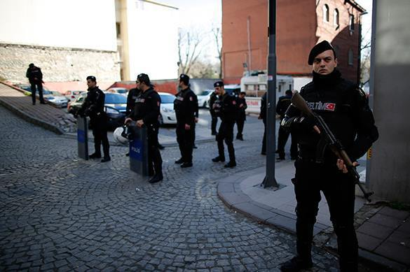 Three Russians arrested in Turkey after Istanbul explosion. Istanbul police on alert after explosion