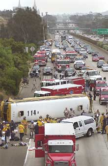 57 people killed in Mexican bus crash