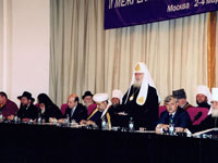Patriarch Alexy II claims morality council to regulate mass media