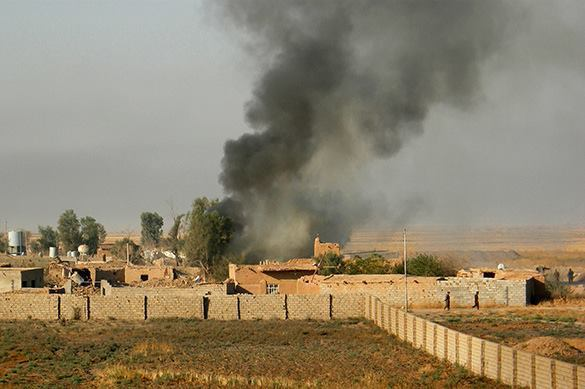 ISIS captures territory near Turkish border. ISIS