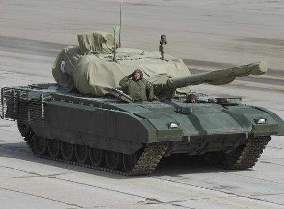 Russia to develop new anti-aircraft artillery system on Armata tank chassis. Armata tank