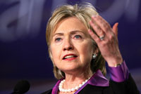 Hillary Clinton Warning to Afghan Leader