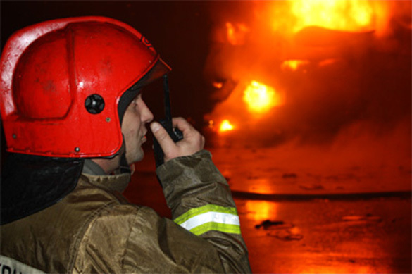 Over 100 buildings damaged by fire in Russia's Rostov-on-Don