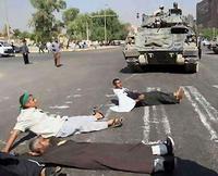 Baghdad faces temporary quiet